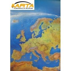 Europa Fizyczna Panoram 97x136cm. Mapa ścienna.