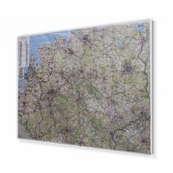 Holandia i Niemcy 165x102 cm. Mapa magnetyczna.