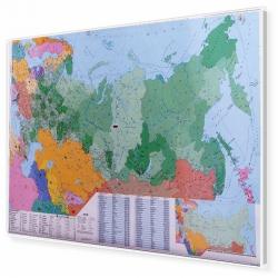 Rosja kodowa 140x100cm. Mapa magnetyczna.