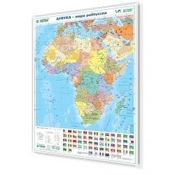 Afryka polityczna 104x138 cm. Mapa magnetyczna.