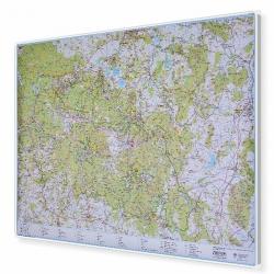 Karkonosze Polskie i Czeskie 154x110cm. Mapa magnetyczna.