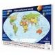 Świat Polityczny 98x70cm. Mapa magnetyczna.