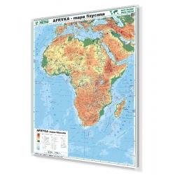 Afryka fizyczna 104x138 cm. Mapa do wpinania.