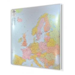 Europa kodowa 150x190 cm. Mapa do wpinania.